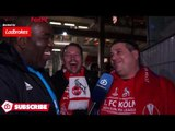 Cologne 1 Arsenal 0   See You In The Final! (Cologne Fans Very Happy)