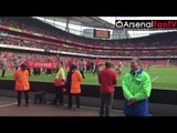 Arsenal Players Lap of Appreciation To The Fans