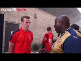 Playing Against Drogba & Kaka Was Educating (Exclusive Rob Holding)