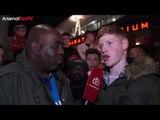 Arsenal 5 Lincoln 0 | The Scoreline Was Harsh says Lincoln Fan