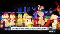 Phoenix neighborhood concerned over Lights of the World noise