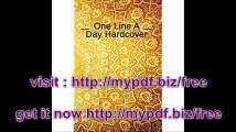 One Line A Day Hardcover 5 Years Of Memories, Blank Date No Month, 6 x 9, 365 Lined Pages
