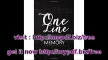 One Line A Day Memory 5 Years Of Memories, Blank Date No Month, 6 x 9, 365 Lined Pages