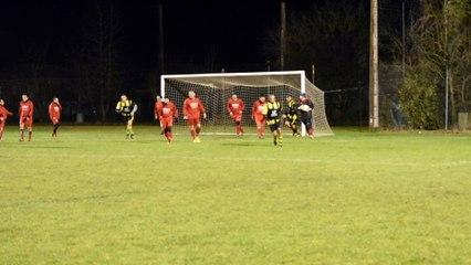 Match vétérans face à Launaguet du 15 12 17 but d'Eric