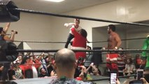 Macaulay Culkin shows off 'Home Alone moves' at California wrestling match