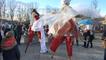 «Lady Noël et Les Chaussettes Rouges» au marché de Noël