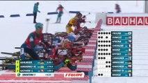 Biathlon - CM (F) - Le Grand Bornand : L.Dahlmeier remporte la poursuite devant A.Kuzmina