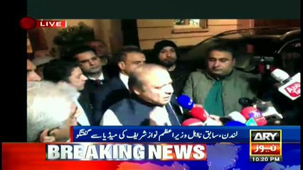Yesterday's verdict proves our stance was right: Nawaz Sharif