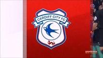 1-0 Sol Bamba Goal England  Championship - 16.12.2017 Cardiff City 1-0 Hull City