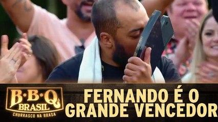 Fernando é o grande vencedor da 2ª temporada