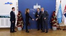 Miloč Vučević, Novi Sad; Ambasador Finske posetio Novi Sad