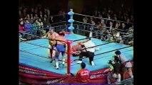 Mitsuharu Misawa/Jun Akiyama vs Kenta Kobashi/The Patriot (All Japan November 24th, 1996)