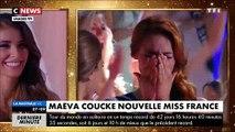 Miss Nord Pas-de-Calais,  Maëva Coucke, élue Miss France en direct sur TF1