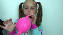 Toy Freaks - Freak Family Vlogs - Bad Baby Good Clown Baby Annabelle Learning Colors