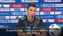 Ronaldo veut prendre sa retraite au Real Madrid