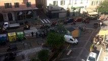 Défilé des motards en Père Noel à Ajaccio