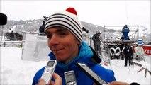 Romain Bardet sur les skis au Grand Bornand