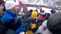 Beaucoup de supporters à la Coupe du monde de biathlon au Grand-Bornand