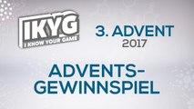 Das IKYG-Advents-Gewinnspiel 2017 - 3. Advent