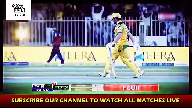 Maratha Arabians vs Pakhtoons – Highlights of 2nd match T10 Cricket League 2017