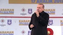 """Erdoğan: """"Mertlerin Dayandığı, Namertlerin Kaçtığı Günlerden Geçiyoruz"""""""