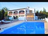 Espagne : Villa à vendre avec piscine et belle vue sur la mer - A seulement 200 mètres de la Plage – Costa Blanca