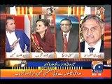 Nawaz Sharif ke Na Ahal hone par mulk mian koi rad-e-amal nahi aya tha - Talal Hussain to Maryam Aurangzeb