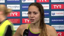 European Short Course Swimming Championships Copenhagen 2017 - Boglarka KAPAS Winner of Womens 400m Freestyle