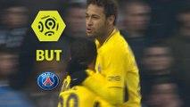 But NEYMAR JR (4ème) / Stade Rennais FC - Paris Saint-Germain - (1-4) - (SRFC-PARIS) / 2017-18