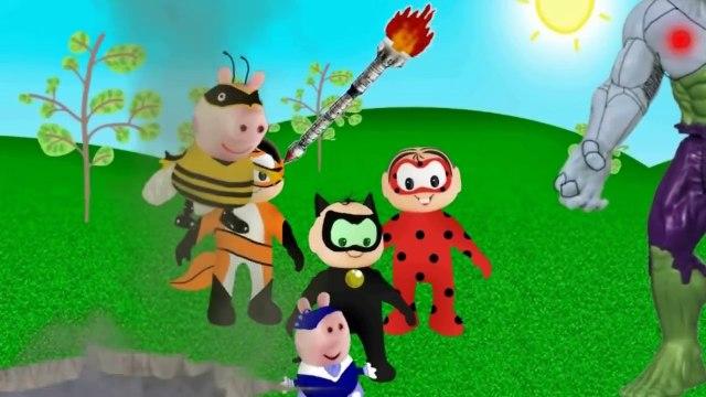 Miraculous Ladybug Peppa Pig Turma da Monica George Pig Cebolinha Hulk cascão Hawl Moht-2BVkRWwmKUM