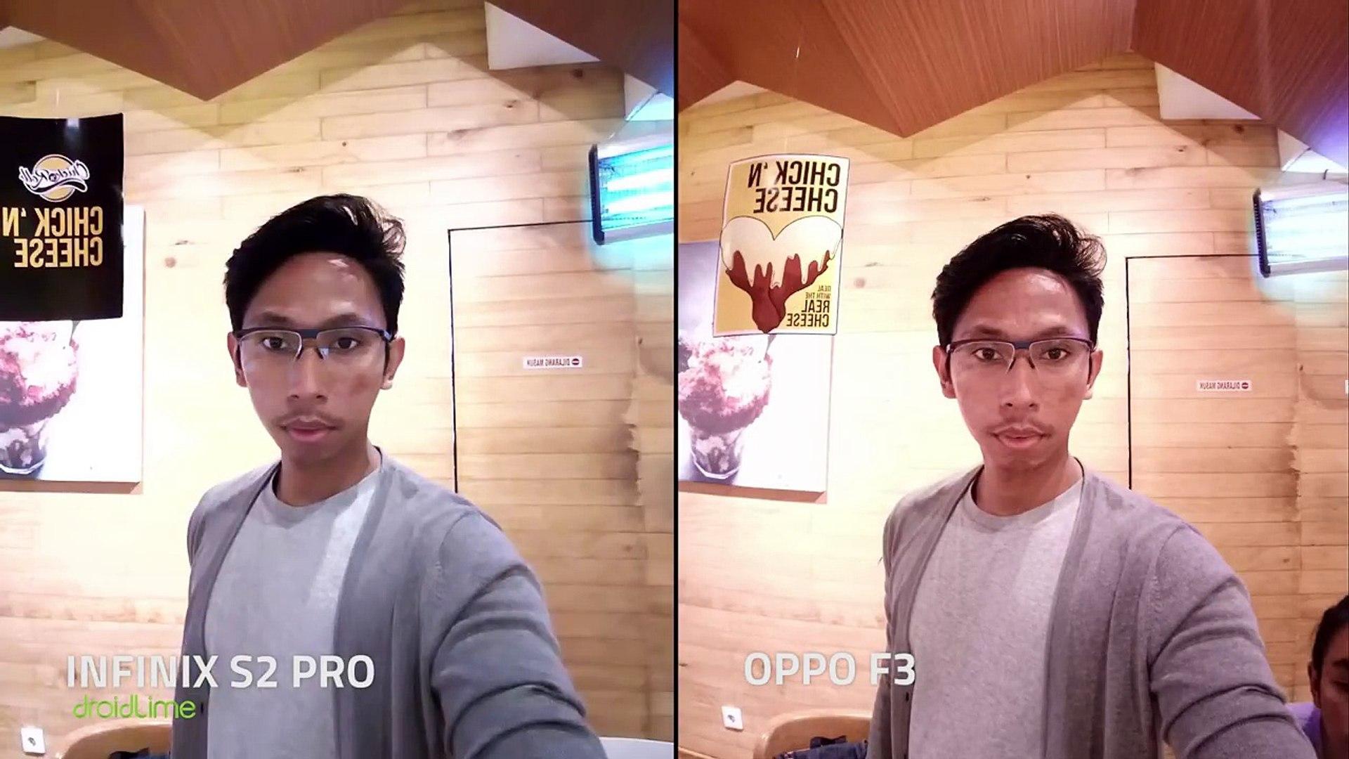 Infinix S2 Pro vs OPPO F3 - Adu Jitu Wide Selfie-RcCn-a7w3To