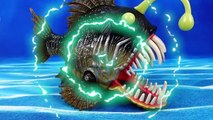 Deep Sea Monsters in The Brooms Harbor~! Go Go Robocar Friends Protect Brooms Town - ToyMart TV-D50WIvCE14o