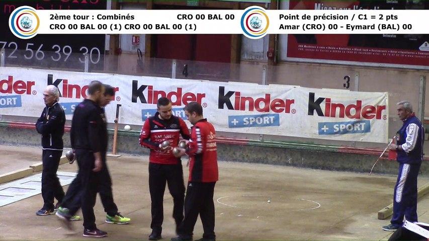 Second tour intégral, Club Elite Masculin, J7, CRO Lyon contre Balaruc-les-Bains, décembre 2017