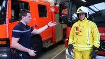 Présentation des nouvelles tenues des pompiers de la Zone Nage