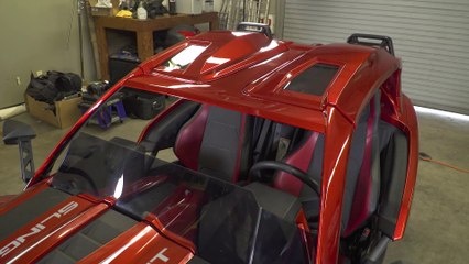 Upgrading a 2017 Polaris Slingshot SL with a Slingshade roof