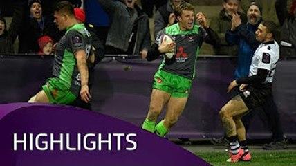 Gloucester Rugby v Zebre Rugby Club (P3) - Highlights – 16.12.2017