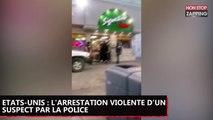 Etats-Unis : l'arrestation violente d'un suspect par la police, la vidéo polémique