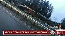EN DIRECT - Etat de Washington : Un train déraille et tombe sur une autoroute - Plusieurs victimes