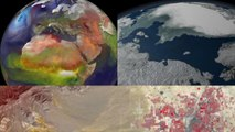 NASA sees holiday lights from space