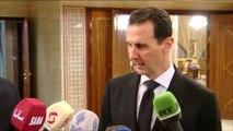 """""""Les Français ont les mains tachés du sang des Syriens"""", lance Bachar el-Assad"""
