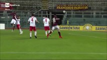 2-1 Pasquale Maiorino Goal Italy  Serie C  Girone A - 18.12.2017 Livorno 2-1 Piacenza Calcio