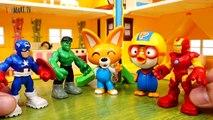Thanos & Dinosaurs Attack~! Avengers, Defeat Dinosaurs With Mech Armors - ToyMart TV-0pFjPA-G2P4