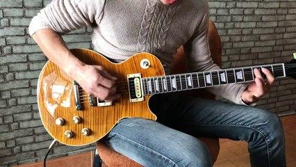 DCustomGuitar - Custom Shop Bone Yard Joe Perry Epi LP Electric Guitar