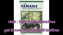 Yamaha Moto-4 & Big Bear Atv 1987-1996