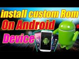 How to install custom rom | Flash a Custom ROM without PC  | Easiest way to Flash ROM Explained