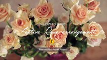a Festive Rose arrangement _ Flower Factor How to _ Powered by Arend Roses-NFJ625mlePM
