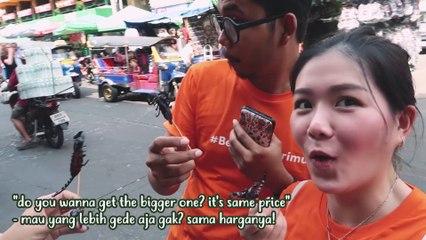 Michi Anak Cabe vs Tanboy Makan Kalajengking