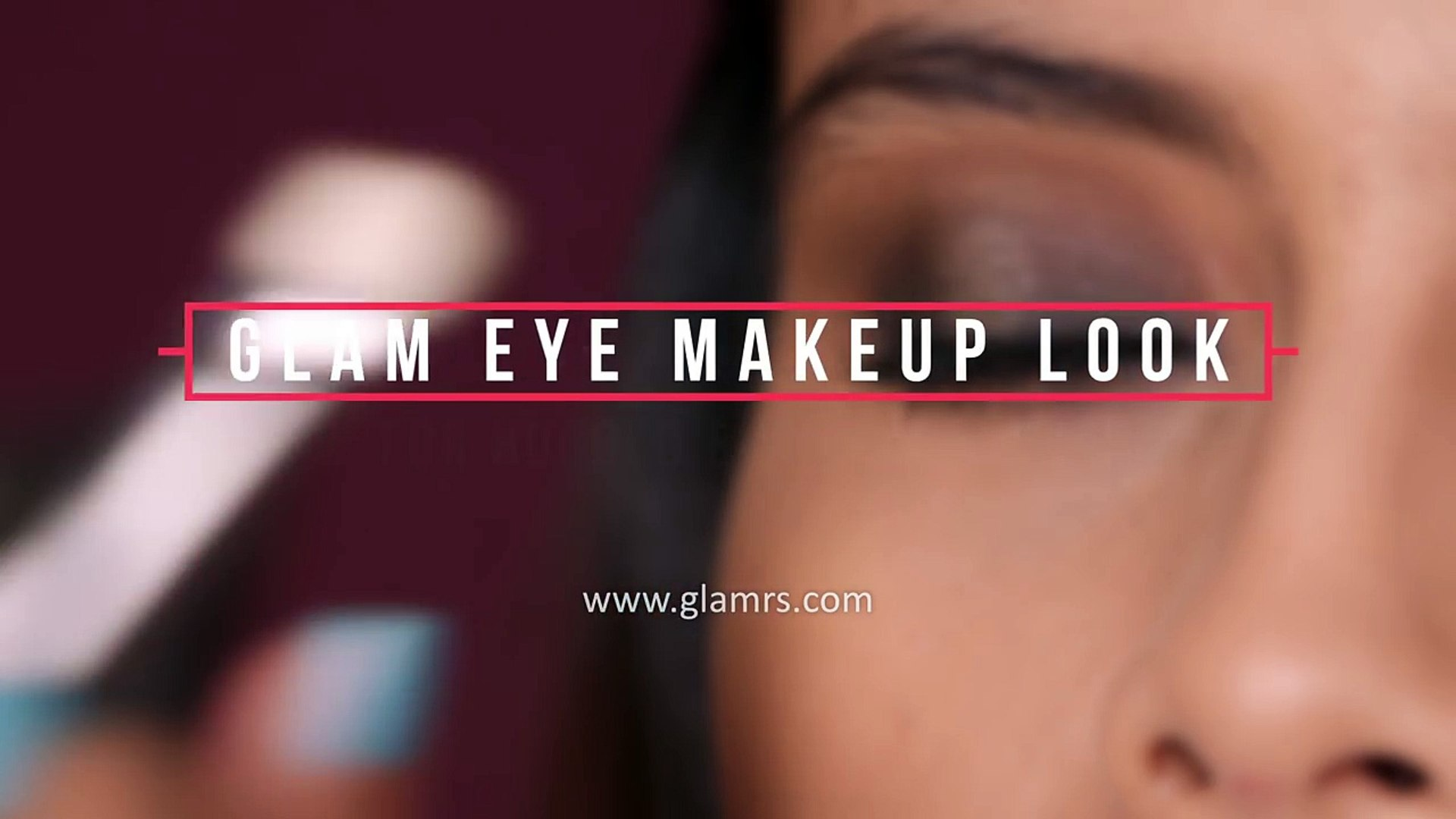 Glam Makeup Look For Upturned And Hooded Eyes _ Makeup Tips-WwKixKaj6Qk