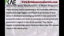 Automobile Spares Manufacturers – A Market Perspective