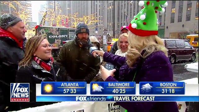 National forecast for Thursday, December 14